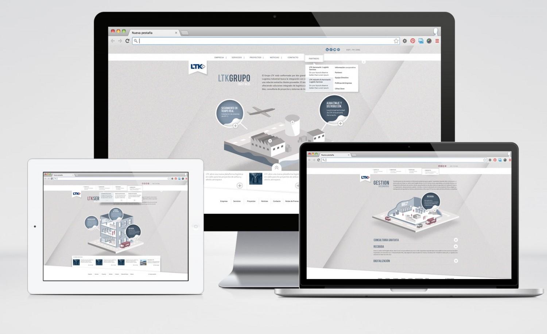 LTK Group - Web Redesign Proposal