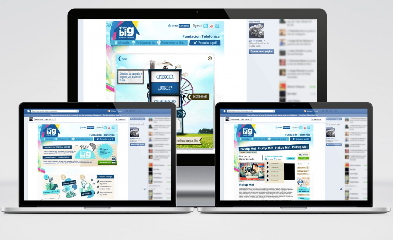 Fundación Telefónica - Think Big - FBapp